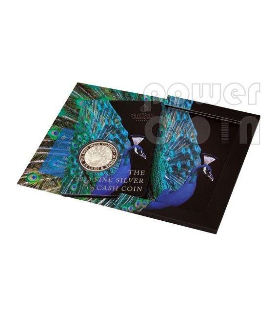 XX CASH East India Company Silber Münze 1 Oz 20 Pence Saint Helena Ascension Island 2012