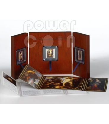 RESURRECTION OF CHRIST Triptych Peter Paul Rubens 3 Silver Coin Set 1$ 2$ Tokelau 2012