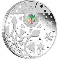 CHRISTMAS LOCKET Xmas Silver Proof Coin 1 Oz 1$ Australia 2012