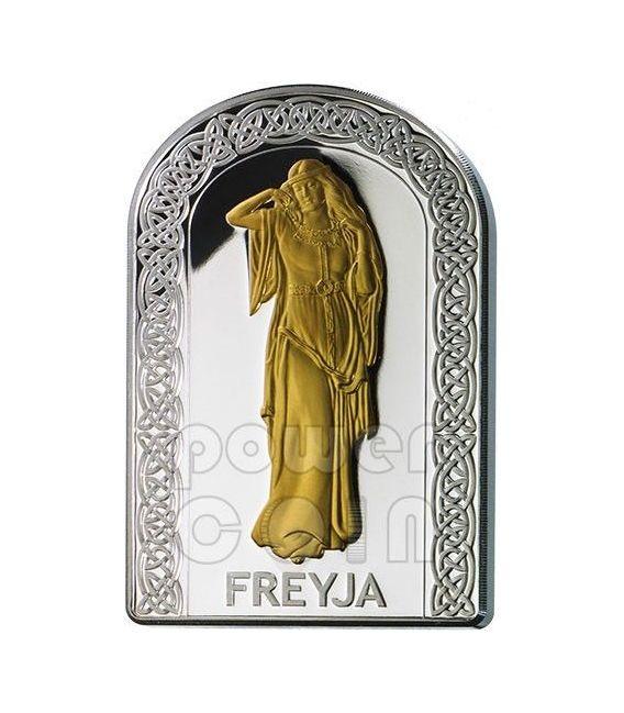 FREYA DEE DELL'AMORE Pantheon Serie I Moneta Argento 10D Andorra 2012