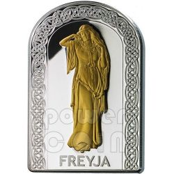 FREYJA GODDESSES OF LOVE Pantheon Series I Silver Coin 10D Andorra 2012