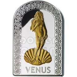VENUS GODDESSES OF LOVE Pantheon Series I Silver Coin 10D Andorra 2012