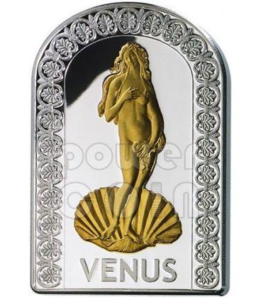 VENUS GODDESSES OF LOVE Pantheon Series I Silver Coin 10D Andorra 2012