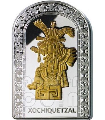 XOCHIQUETZAL GODDESSES OF LOVE Pantheon Series I Silver Coin 10D Andorra 2012