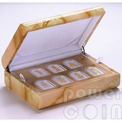 SEVEN GODDESSES OF LOVE SET Pantheon Series I Серебро Монеты 10D Андора 2012
