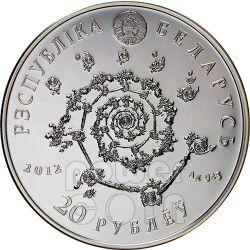 TANGO Magic Of The Dance Argentine Серебро Монета Белоруссия 2012