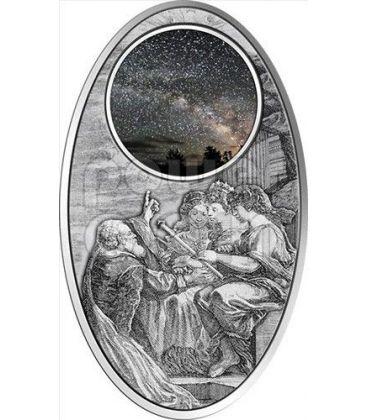 APOCALYPSE IV UNIVERSE Milky Way Maya Calendar Prophecy Silver Coin 10$ Fiji 2012