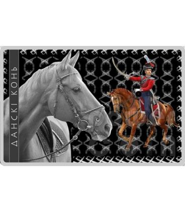 DON HORSE Horses Breeds Russian Silver Coin Belarus 2012