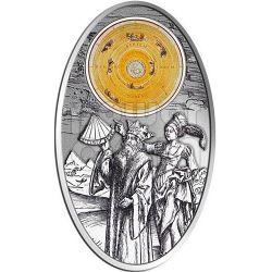 APOCALYPSE III ALMAGEST Ptolemy Astronomy Maya Calendar Prophecy Moneda Plata 10$ Fiji 2012