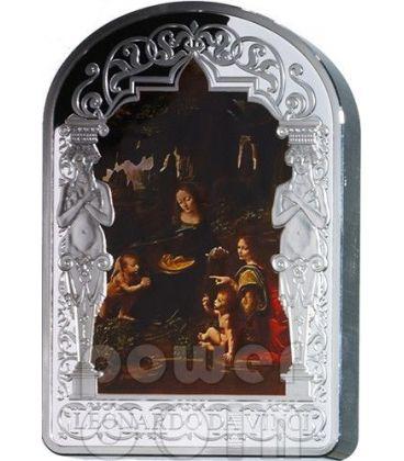 VIRGIN OF THE ROCKS Madonna Leonardo Da Vinci 1 Kg Kilo Silver Coin 100D Andorra 2013