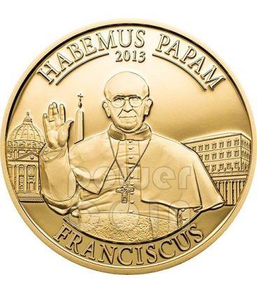 HABEMUS PAPAM Papa Francesco Jorge Bergoglio Moneta 1$ Cook Islands 2013