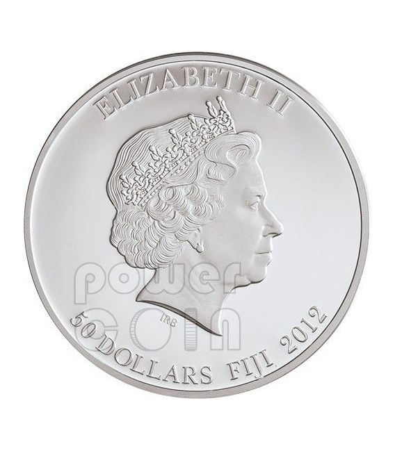 HATSHEPSUT Regina Egizia Moneta Argento Oro Palladio Gemma Diaspro Rosso 2 Oz 50$ Fiji 2012