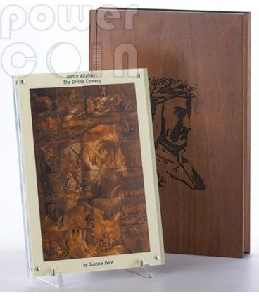 DIVINA COMMEDIA Dante Alighieri Inferno Gustave Dore Set 24 Monete Argento 1 Kg Kilo 1$ Niue 2013