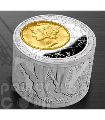 FORTUNA REDUX Prosperita Affari Mercurio Moneta Argento 6 Oz 50$ Niue 2013