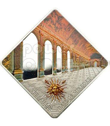 VERSAILLES Galleria Degli Specchi Hall Of Mirrors Moneta Argento 10$ Palau 2013