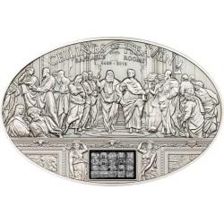 NANO RAPHAEL ROOMS Ceilings of Heaven Серебро Монета 5$ Острова Кука 2013
