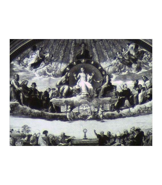 NANO RAPHAEL ROOMS Stanze Di Raffaello Ceilings of Heaven Moneta Argento 5$ Cook Islands 2013