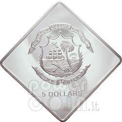 SANTO SUBITO Papa Giovanni Paolo II Moneta Argento 5$ Liberia 2007