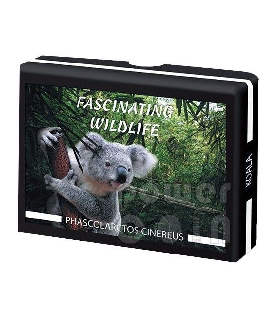KOALA Fascinating Wildlife Moneta Argento 10$ Fiji 2013