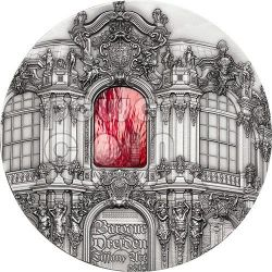 TIFFANY ART BAROCCO DRESDEN Moneta Argento 1 Kg Kilo 50$ Palau 2014