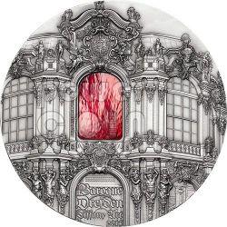 TIFFANY ART BAROQUE DRESDEN 1 Kg Kilo Silver Coin 50$ Palau 2014