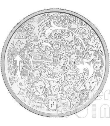 CONTEMPORARY ART Tim Barnard 2 Oz Silver Coin 30$ Canada 2014