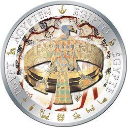 BRACCIALETTO DI AHHOTEP Dorata Egitto Moneta Argento 1$ Fiji 2012