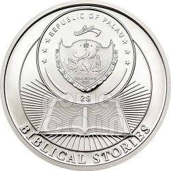 RESURRECTION OF JESUS Biblical Stories Серебро Монета 2$ Палау 2014