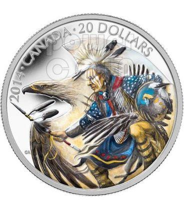 LEGEND OF NANABOOZHOO Silver Coin 20$ Canada 2014