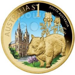 SOUTH AUSTRALIA CELEBRATE AUSTRALIA Münze 1$ Australia 2009