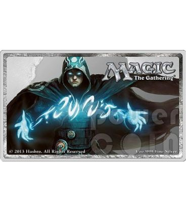 JACE Scultore di Menti Mind Sculptor Magic The Gathering 1 Oz Moneta Argento 2$ Niue 2014
