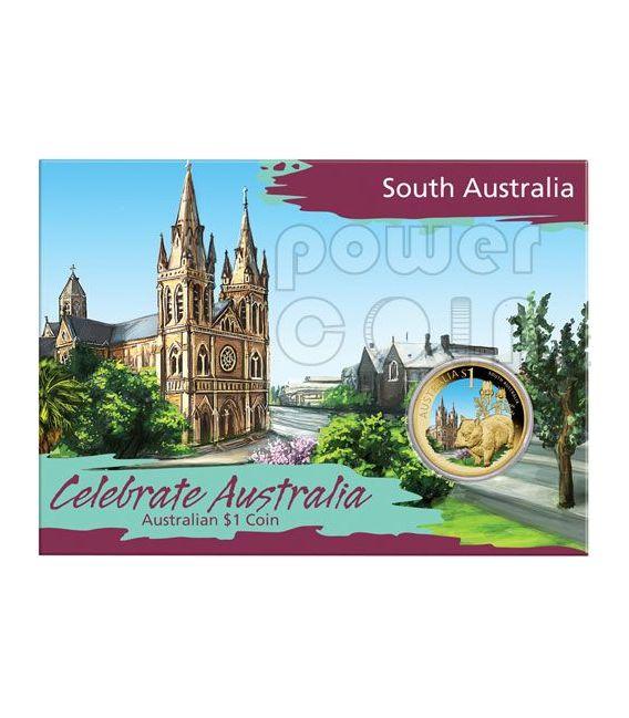 SOUTH AUSTRALIA CELEBRATE AUSTRALIA Coin 1$ Australia 2009