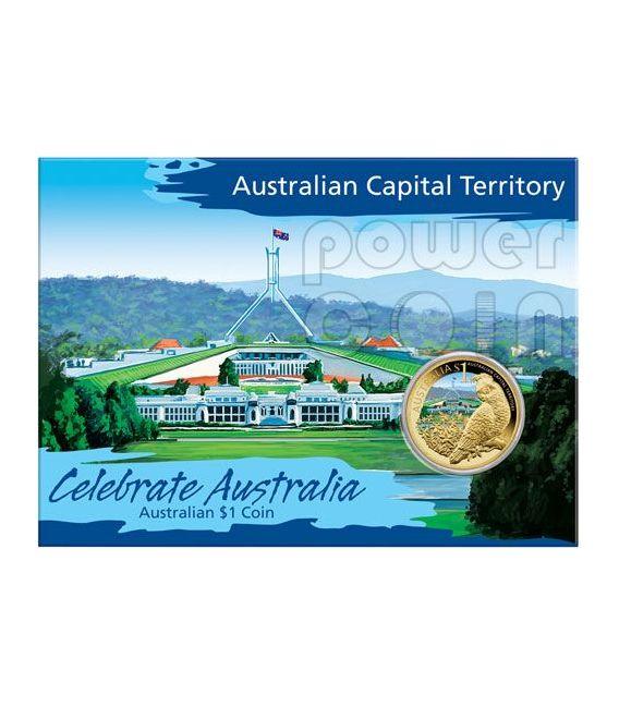 AUSTRALIAN CAPITAL TERRITORY CELEBRATE AUSTRALIA Münze 1$ Australia 2009
