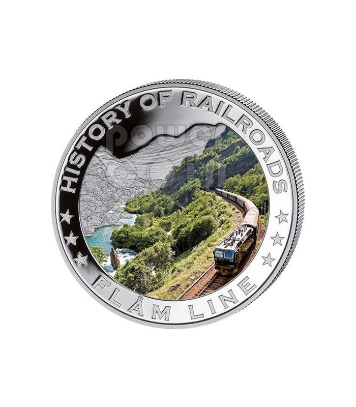 Liberia 2011 $5 History of Railroads Durango /& Silverton Proof Silver Coin