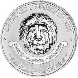 PZL P.11 Storia Aviazione Aeroplano Caccia Moneta Argento 5000 Franchi Burundi 2014