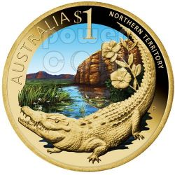NORTHERN TERRITORY CELEBRATE AUSTRALIA Coin 1$ Australia 2009