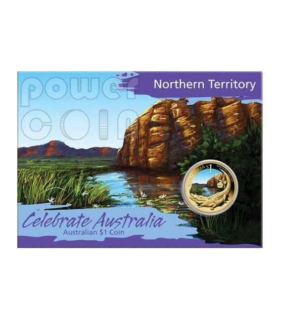 NORTHERN TERRITORY CELEBRATE AUSTRALIA Münze 1$ Australia 2009
