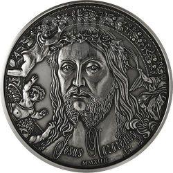 JESUS NAZARENUS Christ Nazareth 1 Kilo Kg Silver Coin 10000 Francs Burkina Faso 2014