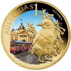 VICTORIA CELEBRATE AUSTRALIA Münze 1$ Australia 2009