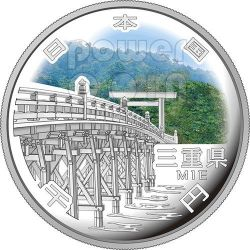 MIE 47 Prefectures (35) Silver Proof Coin 1000 Yen Japan Mint 2014