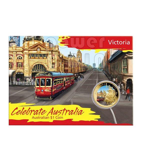 VICTORIA CELEBRATE AUSTRALIA Coin 1$ Australia 2009