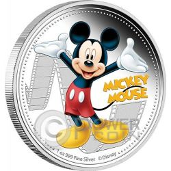 MICKEY MOUSE Mickey And Friends Disney 1 Oz Silver Proof Coin 2$ Niue 2014