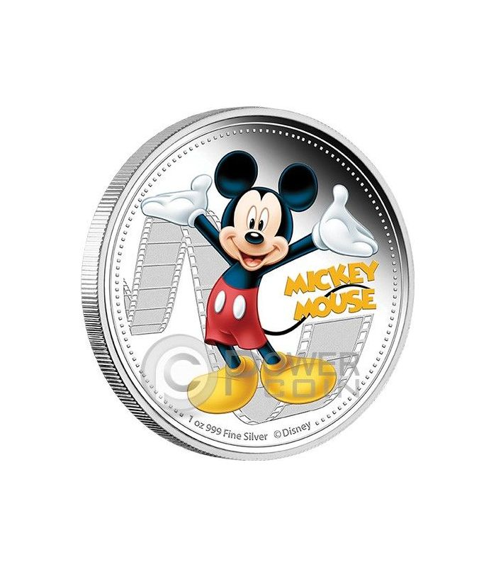 Donald Duck 1 Oz  Proof Silver Coin Niue 2014 2$ Disney Mickey /& Friends 2014