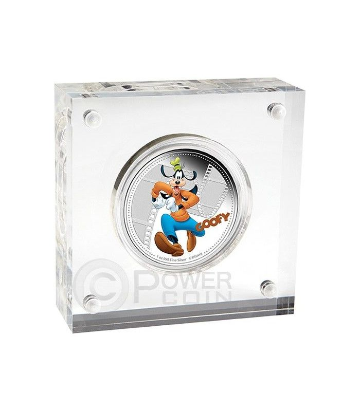 Niue 2014 2$ Disney Mickey /& Friends 2014 Donald Duck 1 Oz  Proof Silver Coin