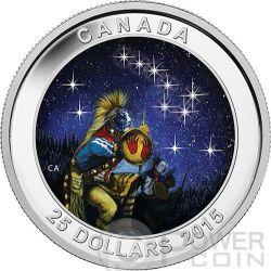 STAR CHARTS The Quest Orsa Maggiore Moneta Argento 25$ Canada 2015