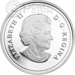 INTERCONNECTIONS Land Beaver Hologram Серебро Монета 20$ Канада 2014