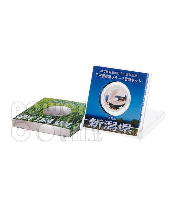 NIIGATA 47 Prefectures (5) Silber Proof Münze 1000 Yen Japan Mint 2009