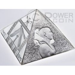GREAT PYRAMIDS Masterpiece Of Mint Art 3 oz Silver Coin 15$ Niue 2014