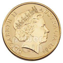BISCUIT STARFISH OCEAN SERIES Moneda 1$ Australia 2007