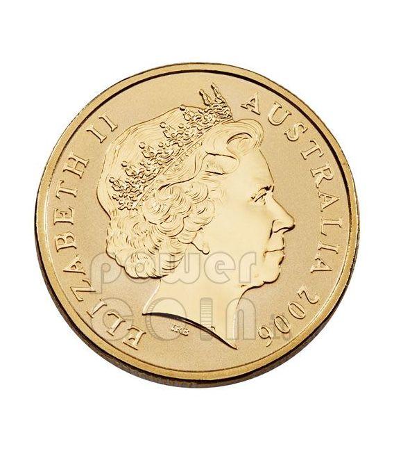 SQUALO BIANCO OCEAN SERIES Moneta 1$ Australia 2007